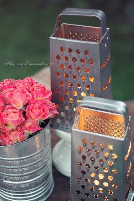 BLOG POSbistro - świeczniki handmade